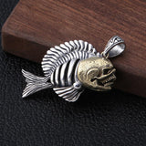 Skull Fish Necklace | Skull Action