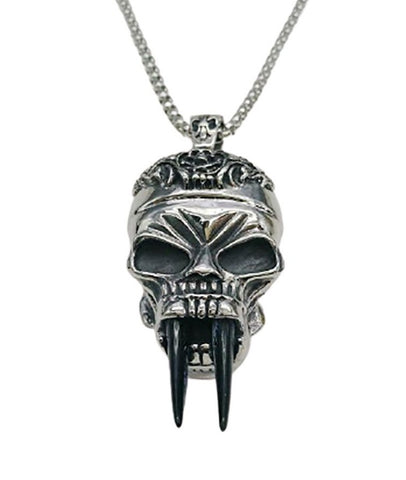 skull-head-chain-necklace