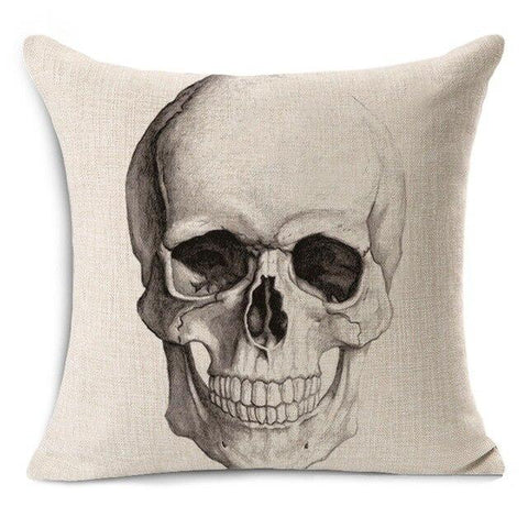 Skull Head Pillow