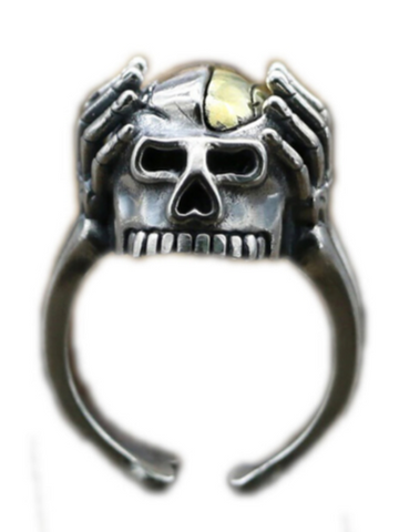 Skull Head Ring | Skull Action