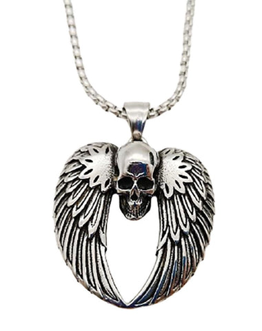 skull-heart-wing-necklace