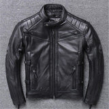 Skull Leather Jacket Motorcycle | Skull Action
