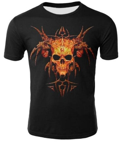 Skull Motorcycle T Shirts