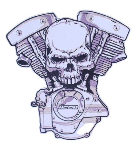 Skull Patches For Jackets