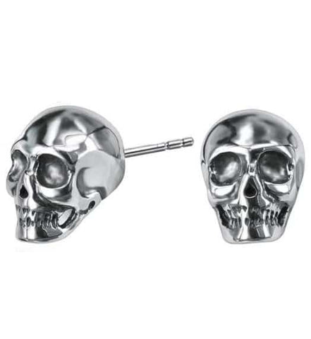 Skull Pierced Earrings