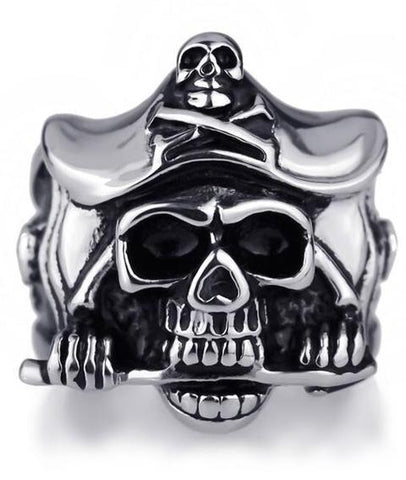 Skull Pirate Ring | Skull Action