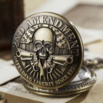 Skull Pocket Watch Antique | Skull Action