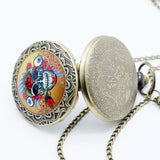 Skull Pocket Watch Chain | Skull Action