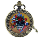 Skull Pocket Watch Chain