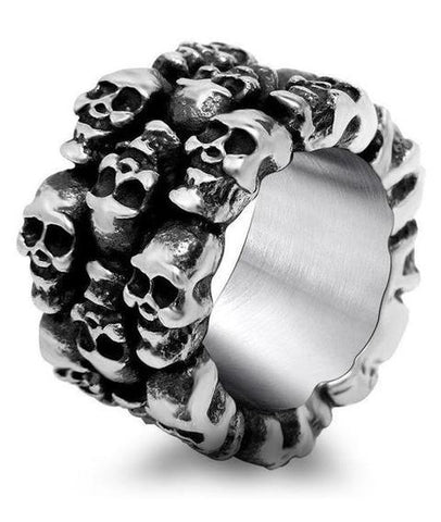 affliction skull ring
