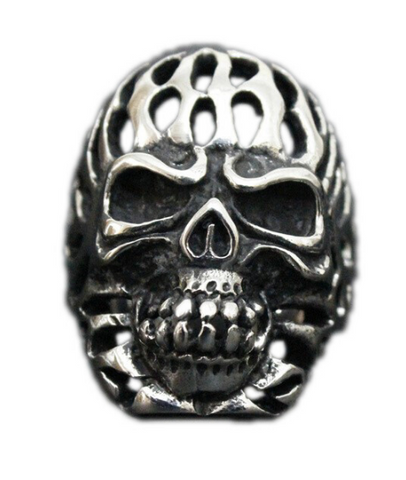 skull ring hells angels