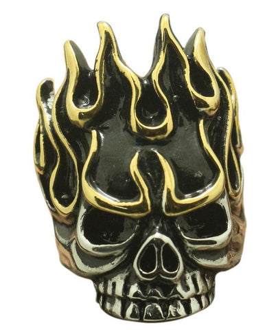 Skull Ring Into The Fire