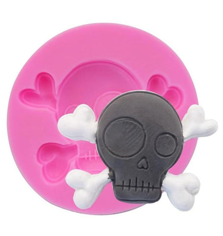 Skull Shaped Cake Pan