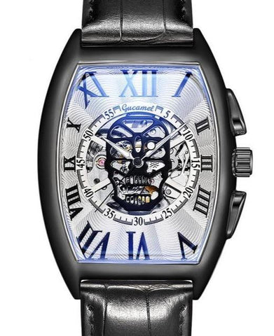 skull watch automatic