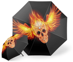Skull Wing Umbrella
