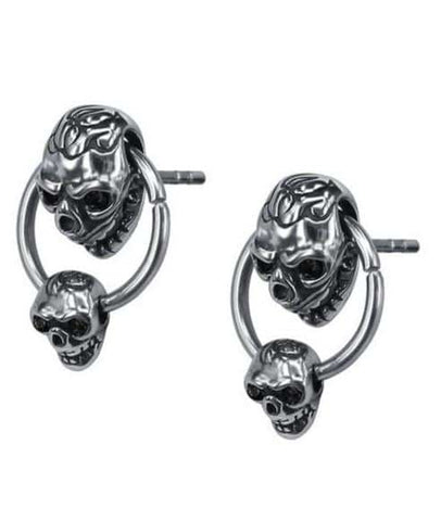 Skull Wire Earrings