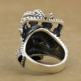 Skull With Crown Ring | Skull Action