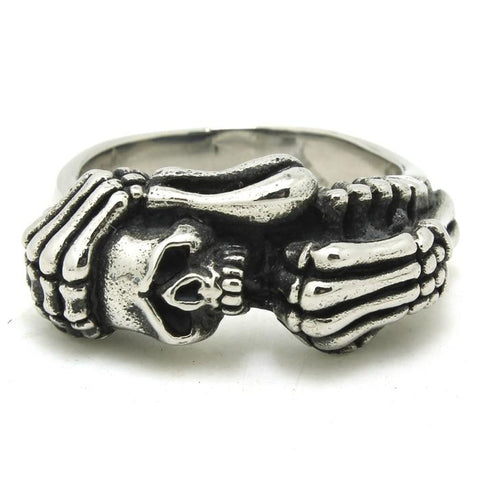 small skull ring for sale