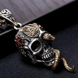 Snake Head Necklace | Skull Action