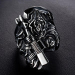 Sons Of Anarchy Grim Reaper Ring | Skull Action