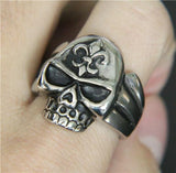 Stainless Skull Ring | Skull Action