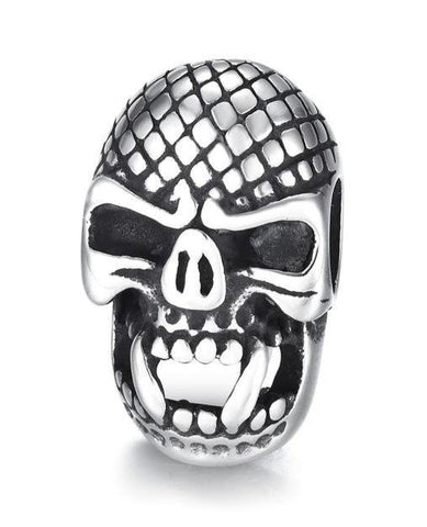 Stainless Steel Skull Beads