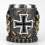 Stainless Steel Skull Coffee Mug | Skull Action