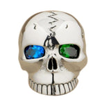 Sterling Silver Blue Eye Ring | Skull Action