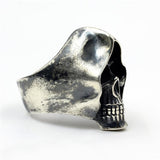 Sterling Silver Grim Reaper Ring | Skull Action