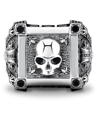 sterling silver pirate rings