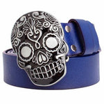 Sugar Skull Belt Buckle | Skull Action