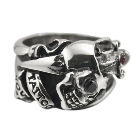 tattoo-skull-ring