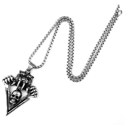 Tiger Chain Necklace | Skull Action