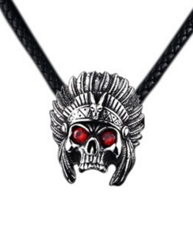 Tribal Skull Necklace
