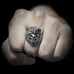 Tribal Skull Ring | Skull Action