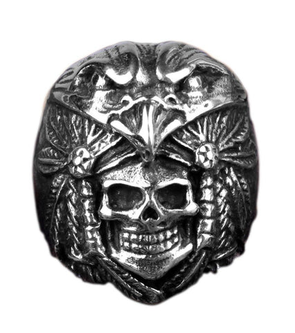 tribal-skull-ring