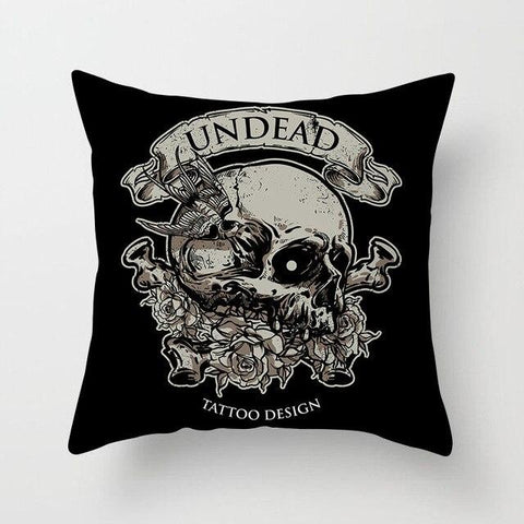 Undead Skull Pillow