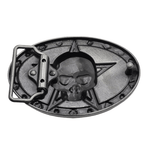 Vintage Skull Belt Buckle | Skull Action