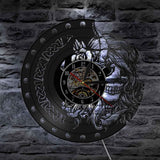 Wall Clock For Teenage Girl | Skull Action
