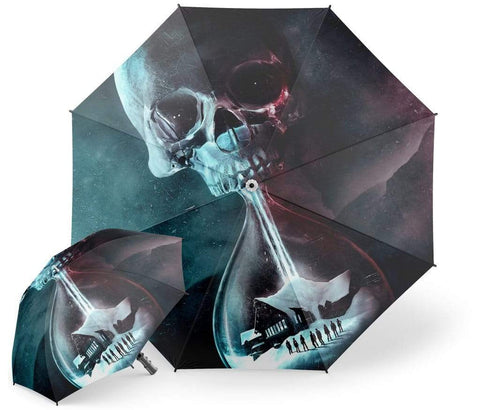 Winter Skull Umbrella