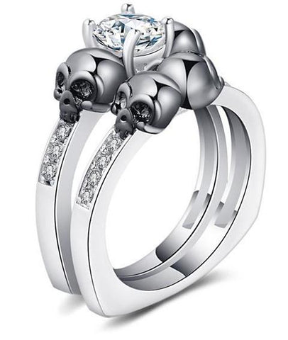womens gothic engagement rings