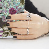 Womens Skull Ring | Skull Action