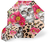 Womens Skull Umbrella