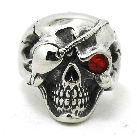 world war 2 skull ring