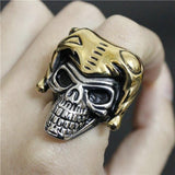 Yellow Gold Skull Ring | Skull Action