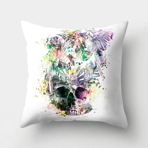 Yoga Skeleton Pillow