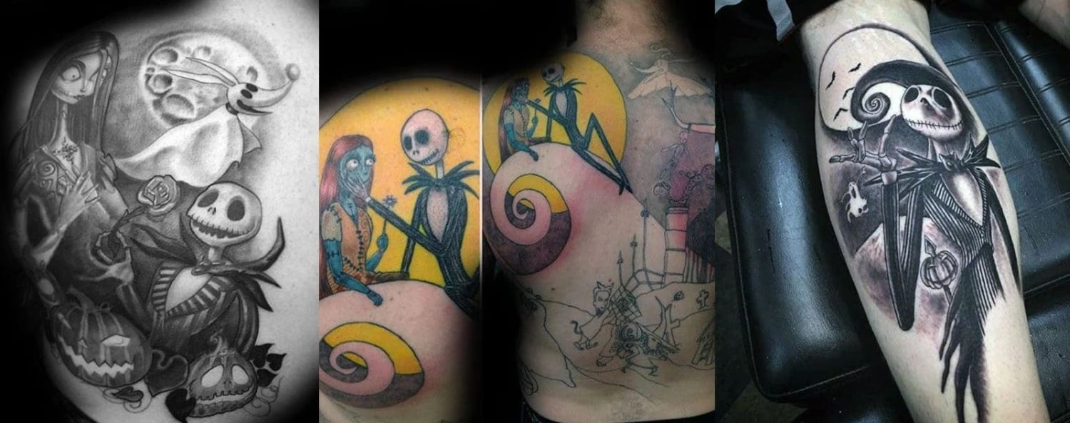 jack-skellington-and-sally-couple-tattoo