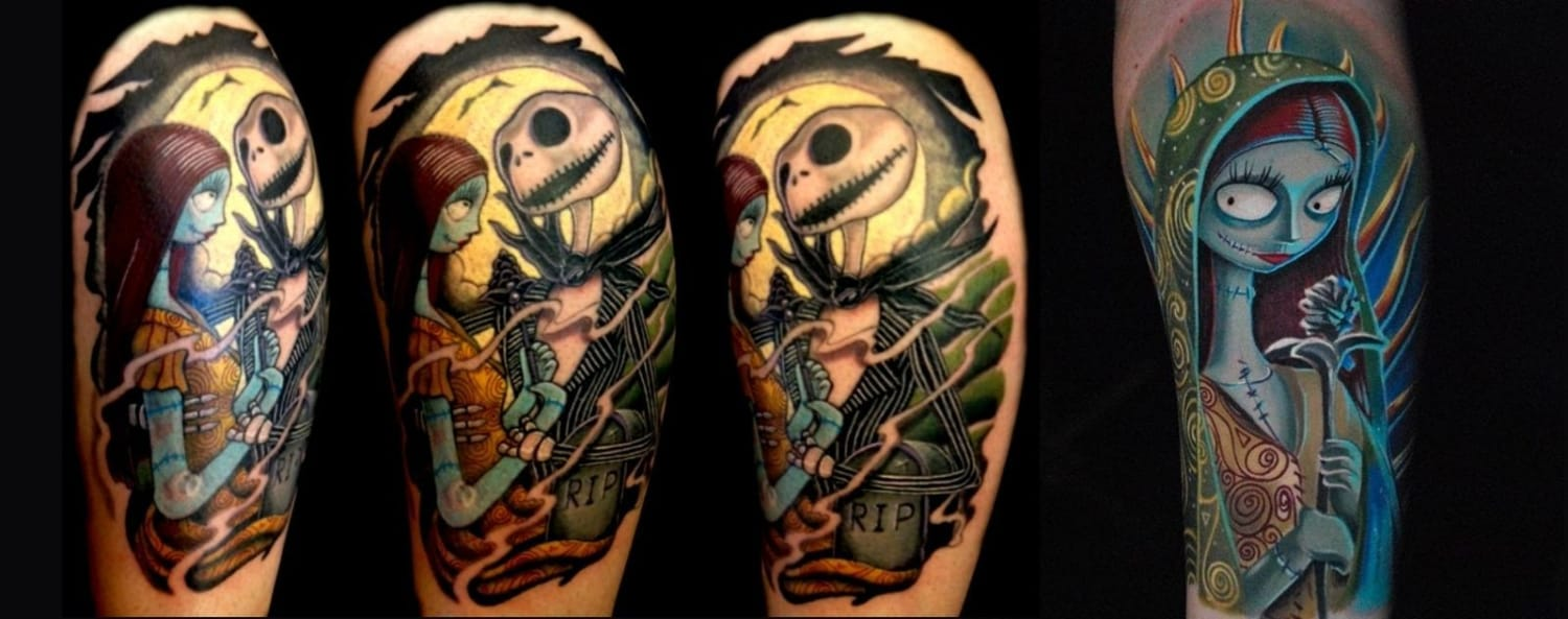 sally-skull-tattoo