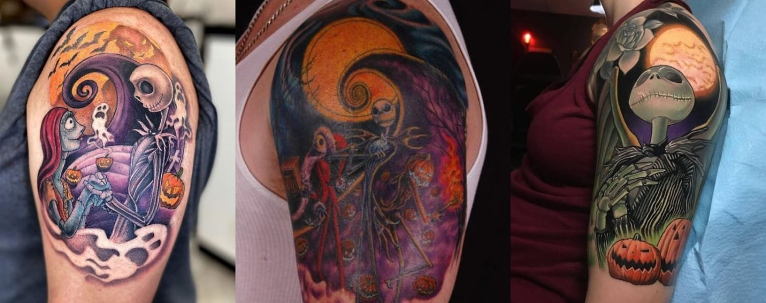 colorful-jack-skellington-tattoo