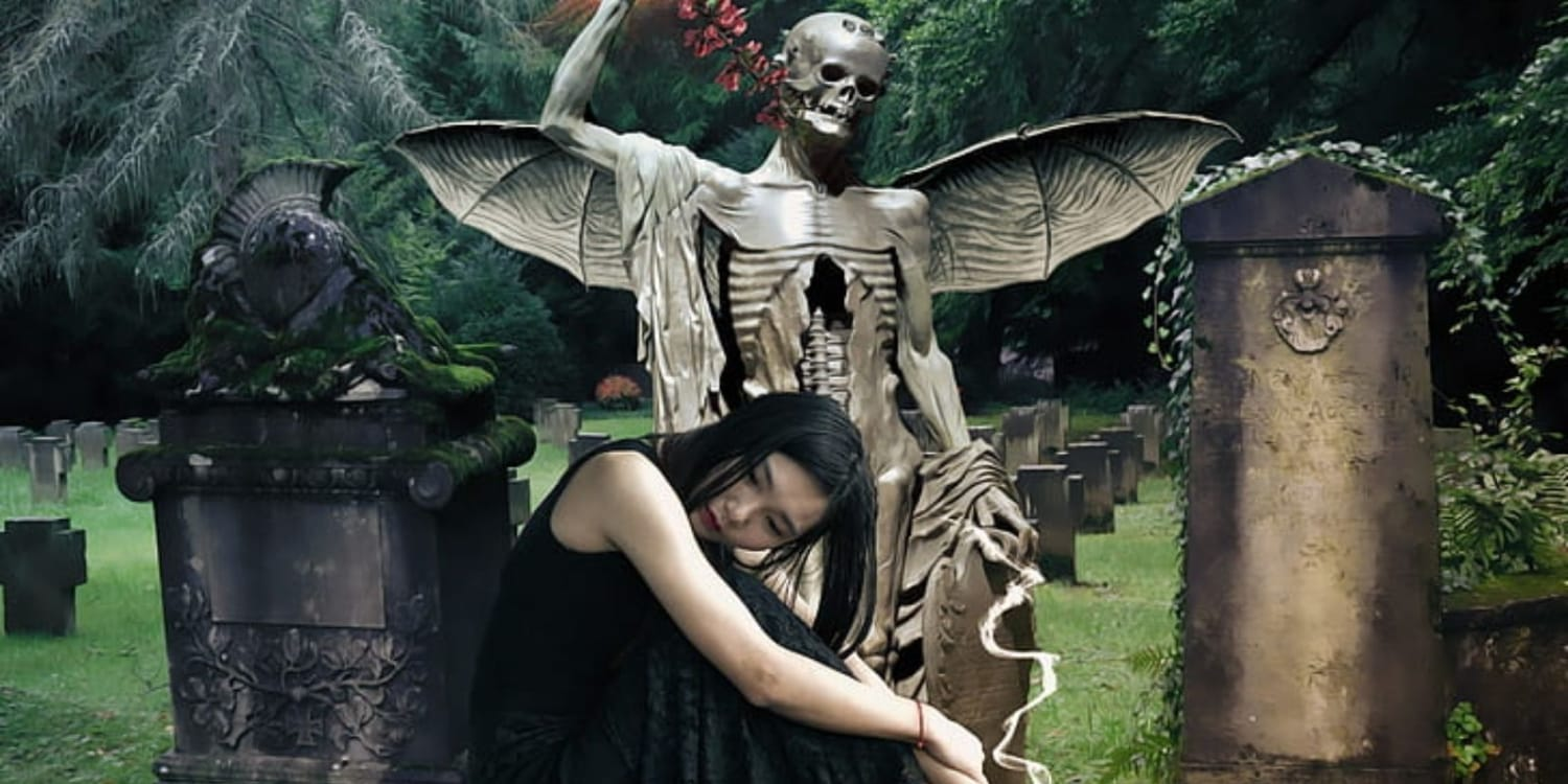 Why are goths obsessed with death?